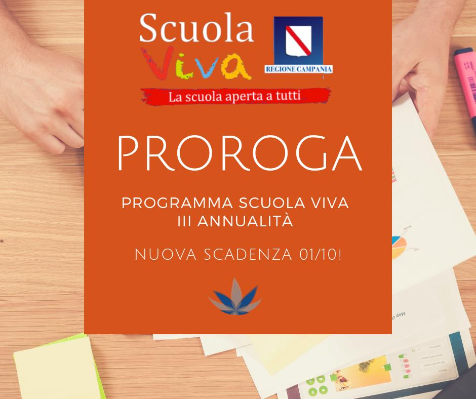 """Proroga Del Termine Ultimo Per La Terza Annualità Di """"Scuola Viva"""" – La Proposta Di Bricks4kidz"""