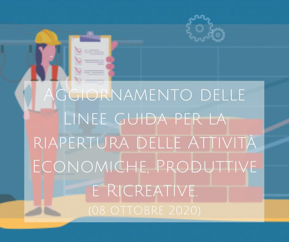 Linee Guida Per La Riapertura Delle Attività Economiche – Formazione Professionale